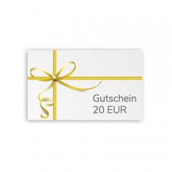 Gutscheinkarte 20 EUR