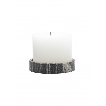 Finca-Kerze mit Untersetzer